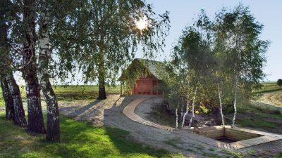 Sauna din pădure și o baie carbogazoasă în comuna Zăbala