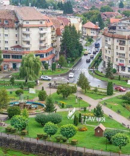 Covasna centru statiune Balta Dracului
