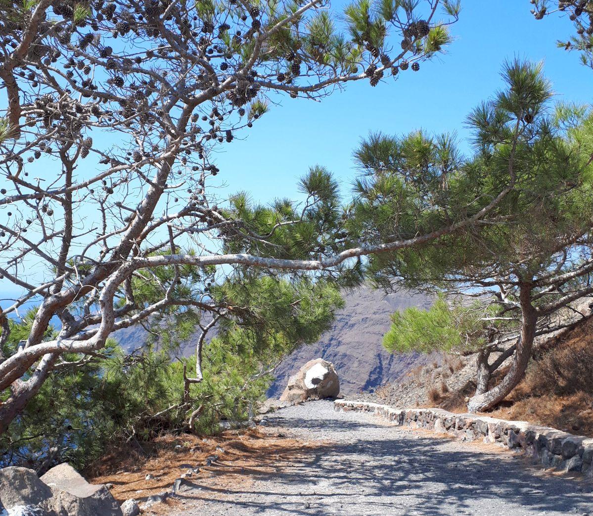 Santorini, drumul Fira-Oia