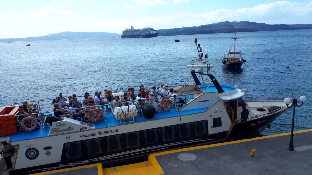 Fira, port